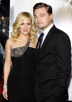 Kate Winslet and Leonardo DiCaprio- they would make the cutest couple and have beautiful children.