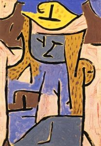 Girl with a Yellow Hat - Paul Klee - The Athenaeum                                                                                                                                                                                 More