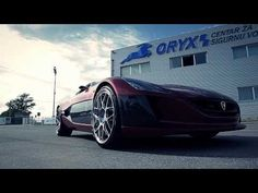 Rimac Automobili Concept_One in action - teaser