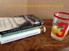 In need of some faith-themed reading, halfway through the summer? Have no fear, three suggestions are here!