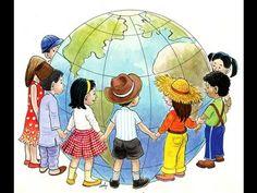 """HAPPY Children's Day :) Have fun w/ your kids today & not only today :) to Happy Children's Day, Happy Kids, International Children's Day, School Murals, Globe Art, World Crafts, Operation Christmas Child, Thinking Day, We Are The World"