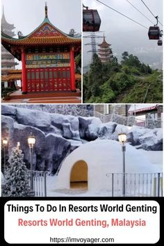 From Ziplining to Virtual Reality experiences there are many exciting things to do in Resorts World Genting, Malaysia making it a complete family destination. Malaysia Travel, Asia Travel, Solo Travel, Amazing Destinations, Travel Destinations, Park Resorts, Luxury Travel, Travel Guides, Travel Tips