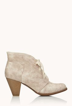 Everyday Lace-Up Booties | FOREVER21 - 2000089995 it's quite similar to Bethany's shoes in the easter video... I just liked her outfit, so I looked for it. I'm not obsessed with Bethany... just saying