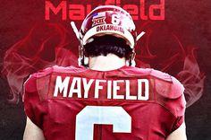 #BakerMayfield #6 #OU #Sooners #Football #BoomerSooner