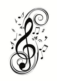 Music symbols art design treble clef 69 Ideas for 2019 S Tattoo, Note Tattoo, Drum Tattoo, Tattoo Life, Music Tattoo Designs, Music Tattoos, Music Symbol Tattoo, Music Designs, Vinyl Wall Stickers