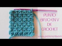 Hoy vemos como tejer el punto bajo en V de crochet. Es super sencillo y muy vistoso. Si quieres más información sobre este punto o sobre otros puntos y técni...