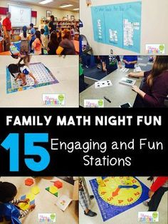 Family Math Night More