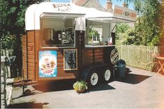 Horse trailer - food truck ...