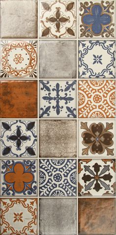 Tiles: Shared by The Showroom Interior Solutions www.theshowroomin… Home Decor… Tiles: Shared by The Showroom Interior Solutions www.theshowroomin… Home Decor Products – Olympia, Lacey, Yelm, WA Painting Tile Floors, Tile Patterns, Tile Design, Home Decor Accessories, Hand Painted, Flooring, Antiques, House, Morrocan Floor Tiles