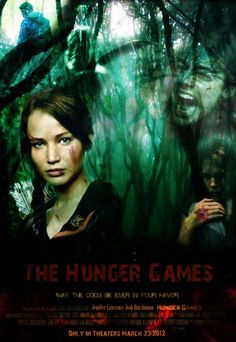 HungerGames Poster by Liliah on @DeviantArt