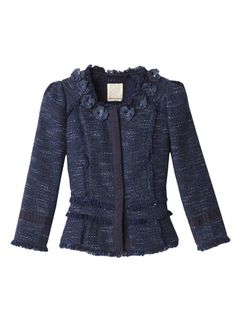 Rebecca Taylor tweed jacket $450