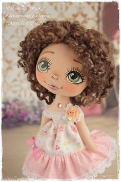 Новости Doll Face Paint, Doll Painting, Doll Sewing Patterns, Sewing Dolls, Tiny Dolls, Soft Dolls, Doll Eyes, Plush Dolls, Fabric Dolls