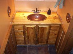 adirondack bathrooms   Adirondack Rustic Furniture & Art by Eddy Enterprises, Inc.