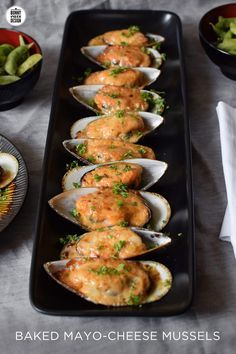 Baked Mayo Cheese Mussels. Read the post before you rule it out!