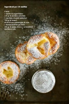 Muffins senza burro con yogurt e ananas