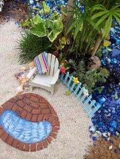 NEW Fairy Garden Beach Kit Live Plant Beach by MagikalFairyland
