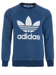 Shop2gether - Moletom Masculino Denim - Adidas Originals - Azul