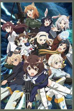 El Anime Brave Witches se estrenará el 5 de octubre.