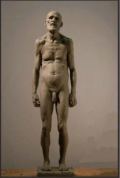 Richard Weaver. tired man - clay