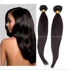 100% Brazilian Virgin Human Hair Straight Weaving Weft Extensions 1 Bundle/50g $8.45 to $27.25