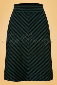 King Louie Midi Skirt Two tone dragonfly 19021 08182016 002W