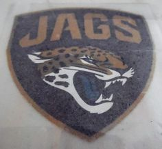 Jacksonville Jaguars New Logo NFL Football Screened Iron On Patch Great Quality #unbranded #JacksonvilleJaguars