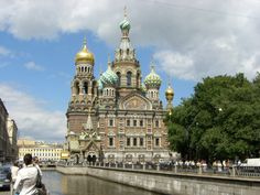 Church of Our Savior on Spilled Blood #travel #russia #churches