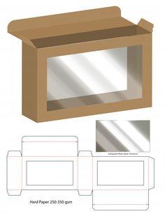 Box packaging die cut template design Box Packaging Templates, Packaging Design, Gift Box Packaging, Diy Gift Box, Diy Box, Box Patterns, Vintage Logo Design, Vintage Labels, Box Design
