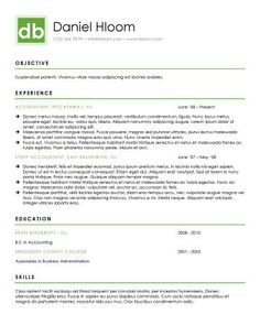 Professional Resume Template For Word   Etsy