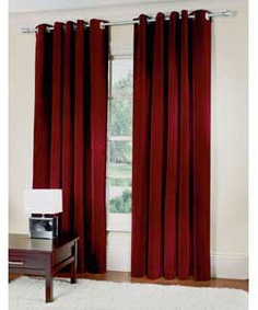 Unique Red and Chocolate Curtains