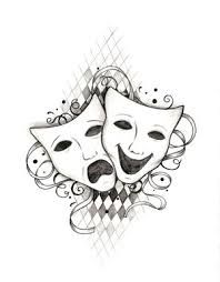Because theater made me who I am. This one's going on my hip. :)