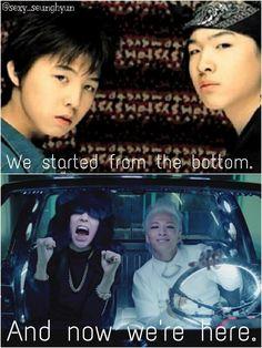 G-Dragon and Taeyang