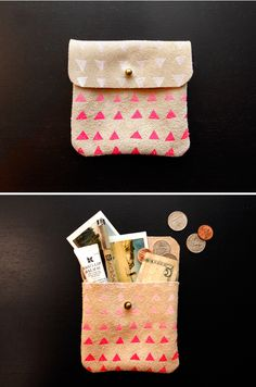 DO IT YOURSELF : OMBRE CLUTCH