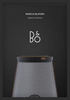 """Consulta este proyecto @Behance: """"B&O Outdoor Speaker Design"""" https://www.behance.net/gallery/42758625/B-O-Outdoor-Speaker-Design"""