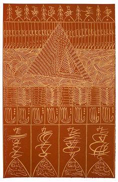 The October Gallery - Ibn El Arabi by Rachid Koraïchi