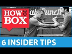 6 Insider Tips for Learning Boxing - How to Box (Quick Videos) Muay Thai Techniques, Fight Techniques, Boxing Training, Boxing Workout, Boxing Records, Learn Boxing, Boxing Drills, Boxing Punches, Professional Boxing