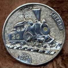 First carved in 1913, the heyday of hobo nickels was back in the 1930s, used as a way to pass the time during the Great Depression. Some of the original coins still exist today, while the practice itself has survived into modern times; ironically making some nickels worth hundreds of dollars.