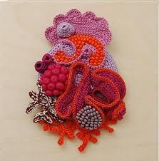Freeform Crochet: 15 Free Tutorials to Get You StartedFreeform Crochet Tutorial Pattern page, Learn How To Crochet. has a tutorial about freeform crochet 585 x 595 · 64 kB · jpeg Freeform Crochet Tutorial 1 Freeform crochet for beginners. Crochet Metal, Crochet Art, Learn To Crochet, Crochet Hooks, Crochet Brooch, Freeform Crochet, Crochet Stitches, Crochet Potholders, Crochet Gratis