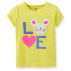 Love Mouse Tee | Carters.com