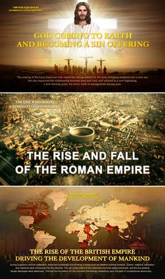 The rise and fall of the Roman Empire and Britain are closely related to the sovereignty of God. No matter which country or nation it is, only by obeying God and worshiping God can they have good fate! Christian Videos, Christian Movies, Christian Life, Bible Lessons For Kids, Bible For Kids, Bible Notes, Bible Scriptures, Choir Songs, The Bible Movie