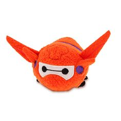 "Disney Big Hero 6 Tsum Tsum Baymax 3 3/4"" Mini Plush [Orange]"