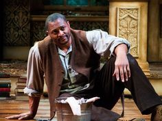 Eddie George makes strong Nashville Rep debut with 'Whipping Man' Eddie George, Heisman Trophy, Ohio State University, Nashville, Nfl, Hipster, Strong, Actors, Sports