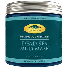 (260g) Dead Sea Mud Mask for Face and Body - 100% Natural Spa Quality - Perfect Pore Minimizer, Deep Skin Cleanser, Reduces Acne, Blackheads and Oiliness for a Tighter Skin and Healthier Complexion