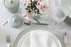 A mesa da Páscoa