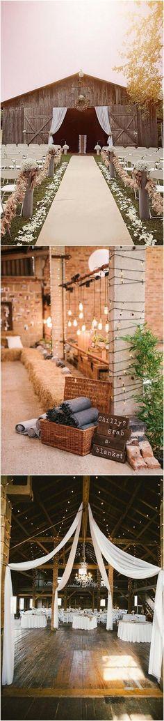 country rustic barn wedding decoration ideas #weddingdecoration #WeddingIdeasCountry
