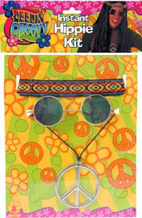 """1960/'s 60s Hippy Fancy Dress PEACE Hippie FLOWER POWER Fancy Dress 1/"""" Badges"""