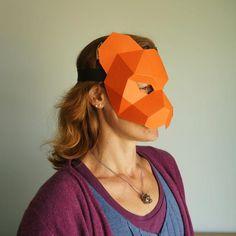 Tiger Half Mask - Wintercroft  - 1
