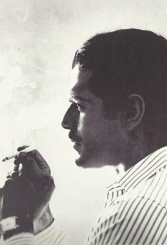 Omar Sharif's profile (c.1960s)