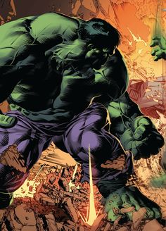 Hulk by Mike Deodato Jr