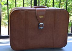 Vintage Suitcase, Light Brown Marbled Suitcase, Lynx Vintage Luggage, Carry On, Soft Cover Suitcase, 70's Luggage - http://oleantravel.com/vintage-suitcase-light-brown-marbled-suitcase-lynx-vintage-luggage-carry-on-soft-cover-suitcase-70s-luggage